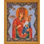 Вышивка бисером Иверская богородица (Кроше)
