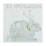 За кроликом в сказочный лес (квадратный формат, белая обложка). Автор: Поляк К.М.