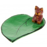 """Сувенир """"Кошка на листе"""""""