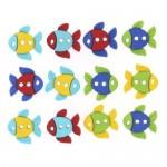 Декоративные пуговицы `Рыбки`