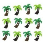 Декоративные пуговицы `Sew Cute Palm Trees`
