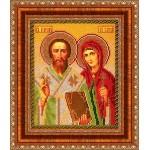 """Рамка для иконы """"Св.Куприян и Устинья"""""""