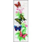 """Набор для вышивания РТО """"Бабочки и цветы"""""""