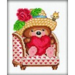 """Набор для вышивания РТО """"Влюбленный медвежонок"""""""
